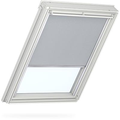 Velux dml 101 1705 electric blackout blind light grey for Velux customer support