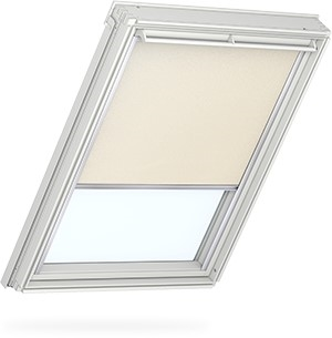 VELUX light beige blackout blind