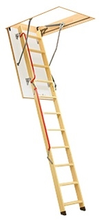 fakro lwl 53 3 section wooden loft ladder sterlingbuild