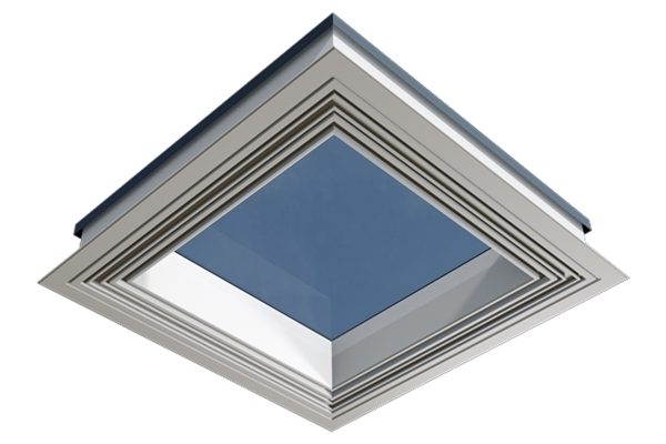 ECO+ Fixed Flat Glass Rooflight with Vertical Kerb