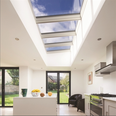 VELUX Modular Skylight in kitchen
