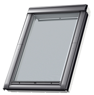 Velux msl mk06 5060 solar awning blind black sterlingbuild for Velux solar blinds installation instructions