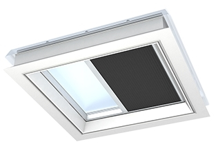 Velux fsk 100150 1047 solar light dimming energy blind for for Velux solar powered blinds