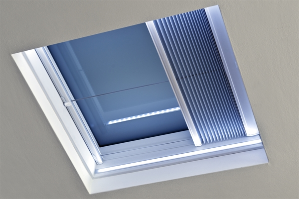 ECO+ Fixed Flat Glass Rooflight with Multi LED 60x60cm