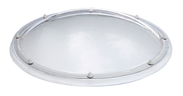Circular Fixed Dome Single Skin, Opaque 65cm