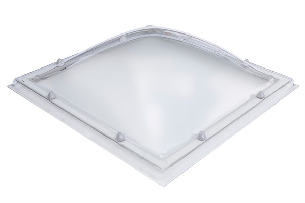 Electric Dome Triple Skin, Opaque with Wall Switch 60x60cm