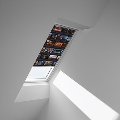Disney & VELUX DKL MK04 4652 Blackout Blind - Cars Film Strip