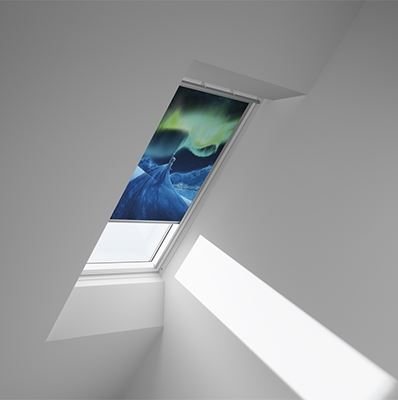Disney & VELUX DKL MK06 4657 Blackout Blind - Frozen Northern Lights