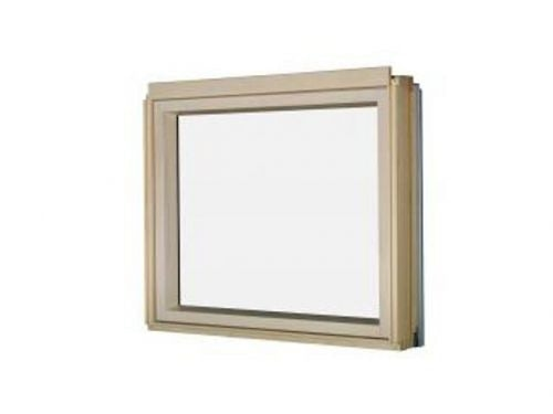 FAKRO BXU P2 82 White PU Laminated Fixed L-Shape Window 78x95cm
