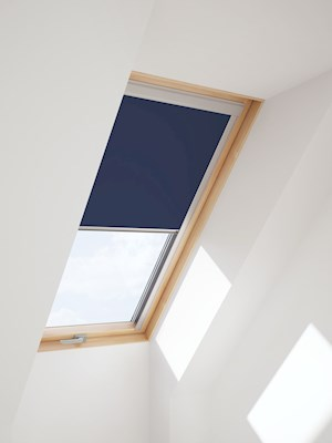 RoofLITE Multi-Fit DUR C4A 4212 Blackout Blind - Dark Blue