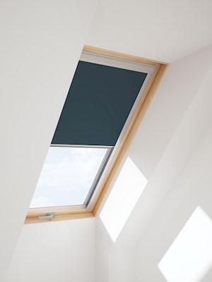 Dake/ RoofLITE Multi-Fit DUR C4A 4232 Blackout Blind - Petrol Blue