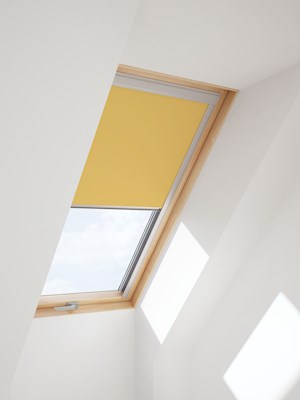 RoofLITE Multi-Fit DUR C4A 4233 Blackout Blind - Yellow