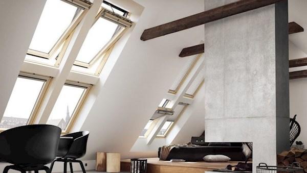 velux integra ggl ck02 307030 solar pine laminated roof. Black Bedroom Furniture Sets. Home Design Ideas