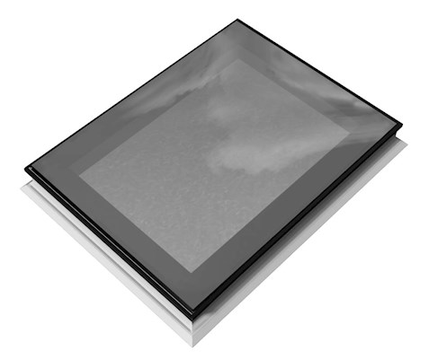 ECO+ EDGE Fixed Spherical Glass Rooflight 90x120cm