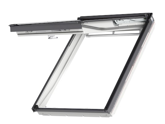 VELUX GPU Top hung open outside