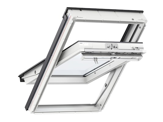 VELUX GGL White Enhanced security inside open