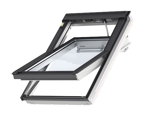 VELUX INTEGRA GGU electric window open outside