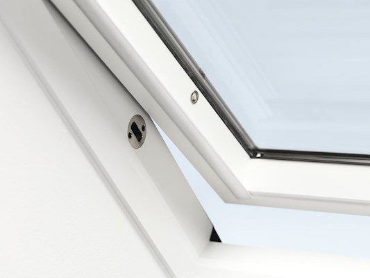 VELUX GGL White paint enhanced security locking mechanism