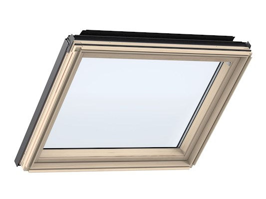 VELUX GIL Pine fixed element inside