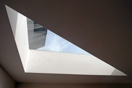 Bespoke signature rooflight photo from indoor