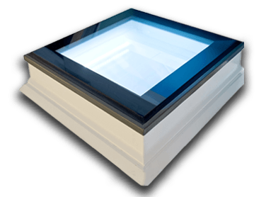 ECO+ fixed LED glass rooflight