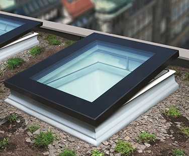 Fakro flat quad glazed rooflight