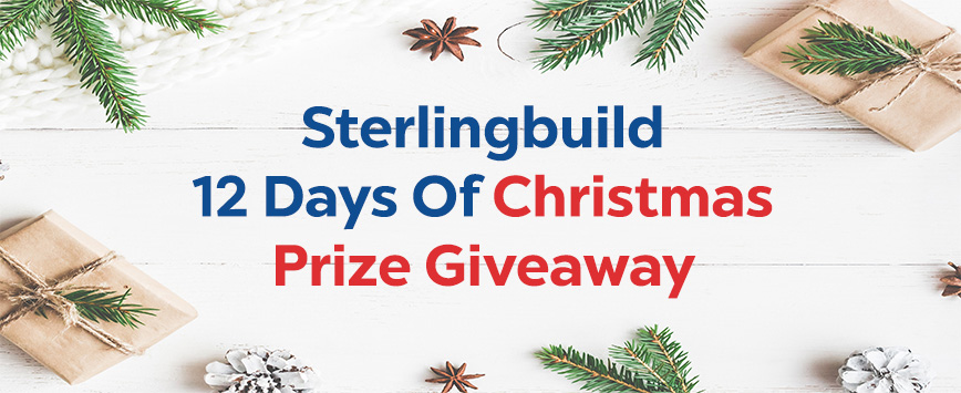 Christmas Prizes at Sterlingbuild