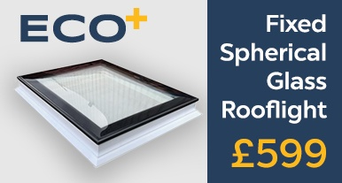 New ECO+ Edge flat glass roof window