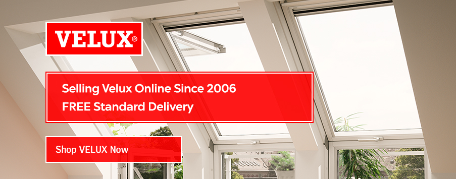 VELUX pitched roof windows with free delivery