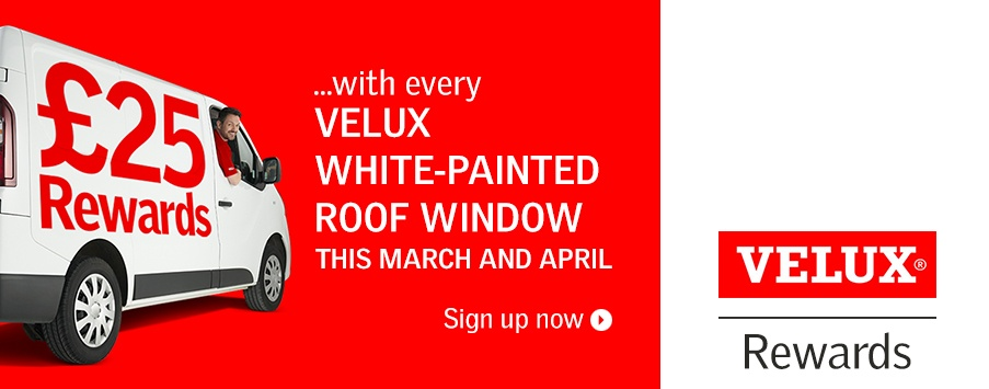 Velux rewards at sterlingbuild