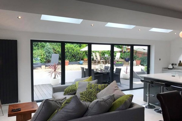 three velux rooflights line the roof