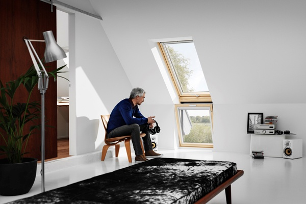 centre pivot roof windows from VELUX