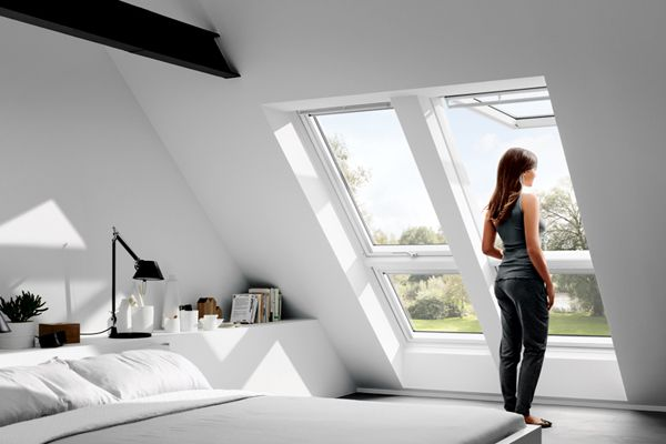 top hung roof window from VELUX