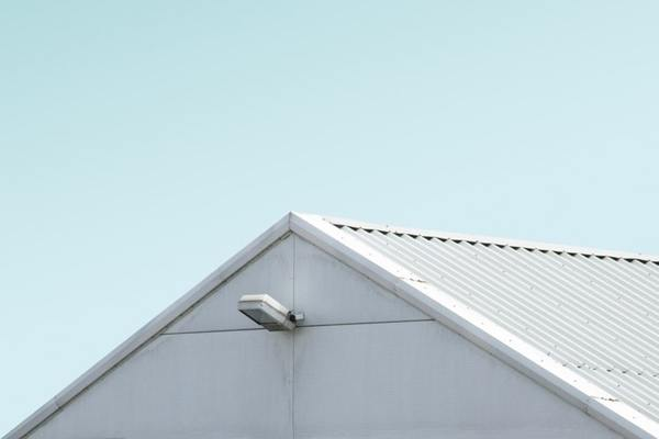 pitched roof