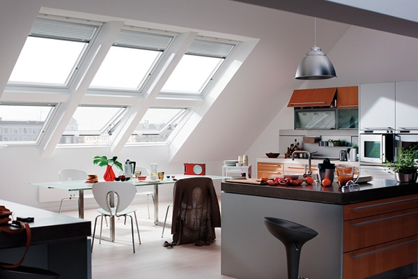 VELUX GGU and GGL roof windows