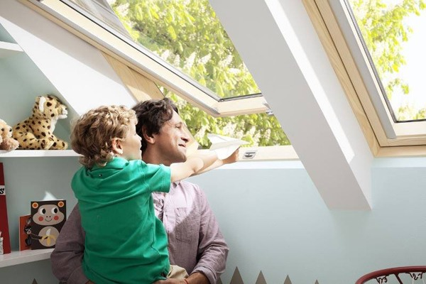 velux roof windows with superior views