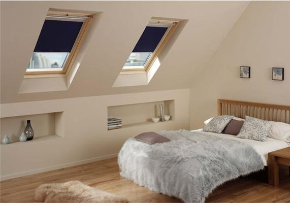 RoofLITE noise reduction pitched roof windows in loft