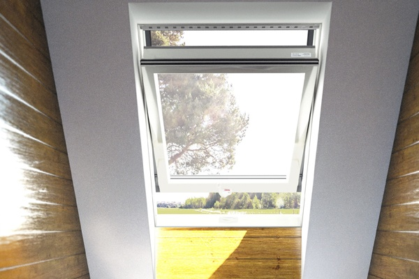 eco+ top hung roof windows