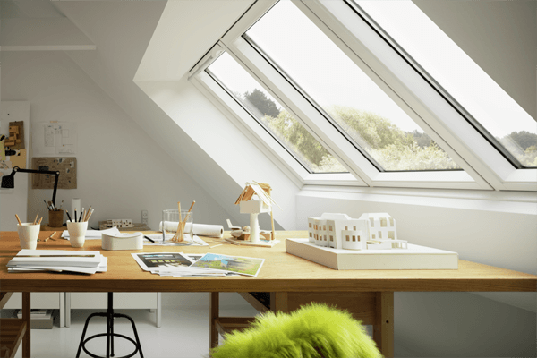 Triple Your Daylight With The New VELUX STUDIO Roof Window ...