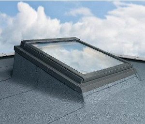 Flashing for flat roofs