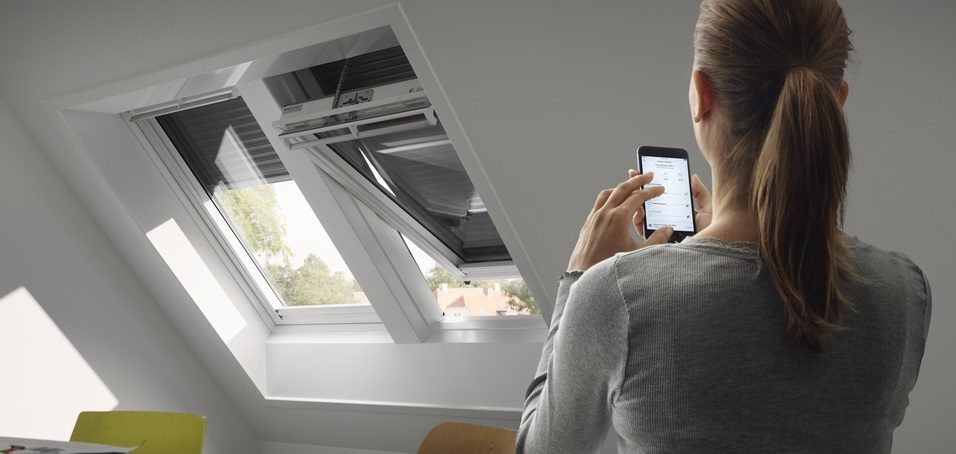 controlling electric windows with velux active