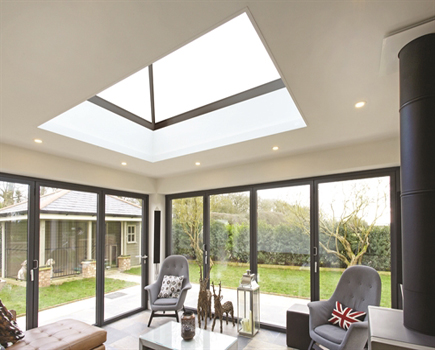 lantern skylight for flat roofs good for kitchen extensions and single storey extensions