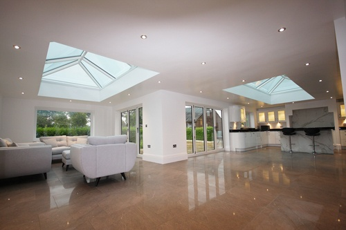 Korniche roof lanterns for extension