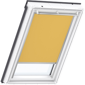 curry yellow blackout blinds for VELUX windows