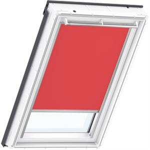 flash red VELUX blackout blind