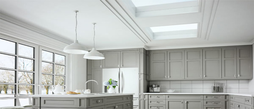 Kitchen extension with skylights- Sterlingbuild