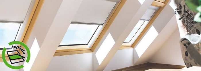 FAKRO roof windows with topSafe security