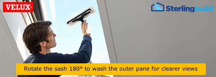 Clean my VELUX outer pane