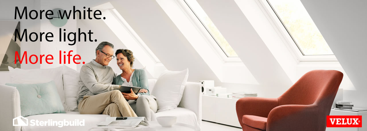 VELUX white paint roof windows