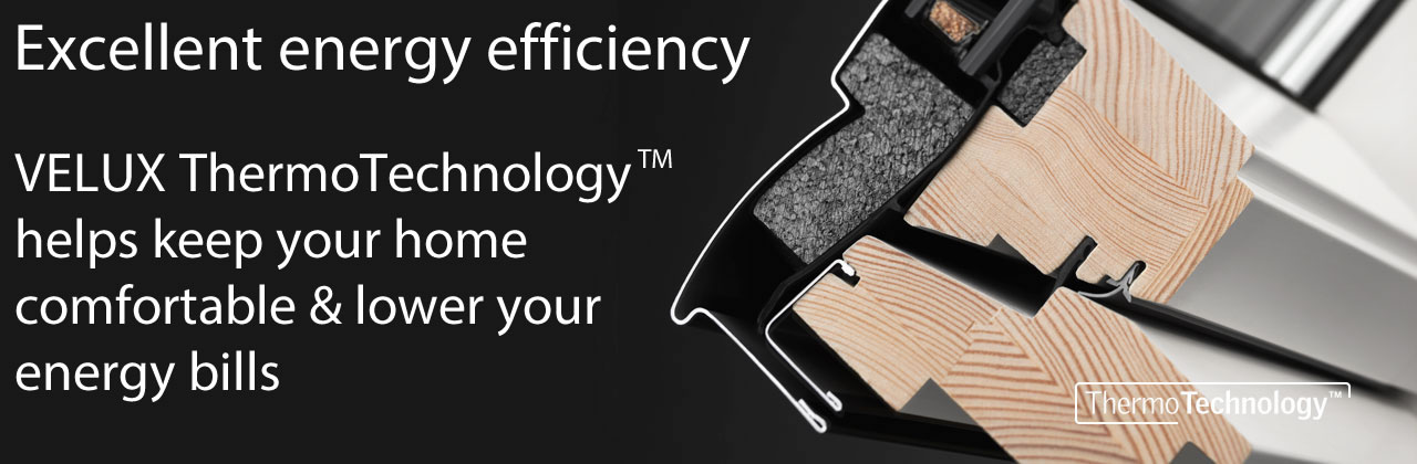 VELUX ThermoTechnology improves energy efficiency